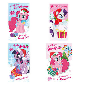 My Little Pony Christmas.Details About My Little Pony Christmas Cards Assorted