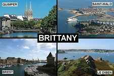 SOUVENIR FRIDGE MAGNET of BRITTANY FRANCE