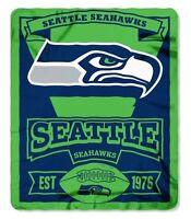 Seattle Seahawks Fleece Throw Blanket