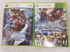 BlazBlue-Continuum-Shift-amp-Calamity-Trigger-Microsoft-Xbox-360-Complete-CIB