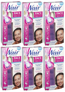 6 Pack Nair Face Roll On Hair Remover Wax Kit Ebay