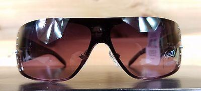 Solar X Eyewear GU03R Rhinestone Detail UV400 Metal Frame Sunglasses NEW W// Case