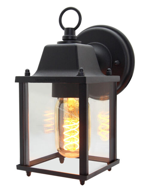 Traditional Gl Wall Lamp Lantern Outdoor Outside Vintage Garden Up Down Light