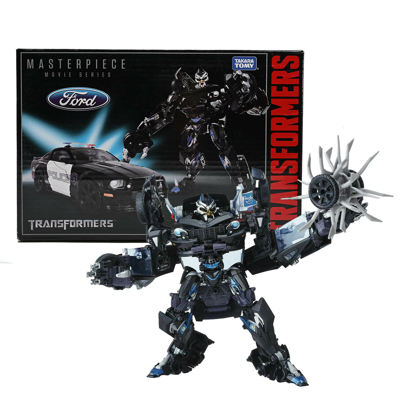 barato y de moda Transformers Transformers Transformers Masterpiece Movie Series mpm-5 mpm05 Barricade Acción Figura nuevo  comprar descuentos