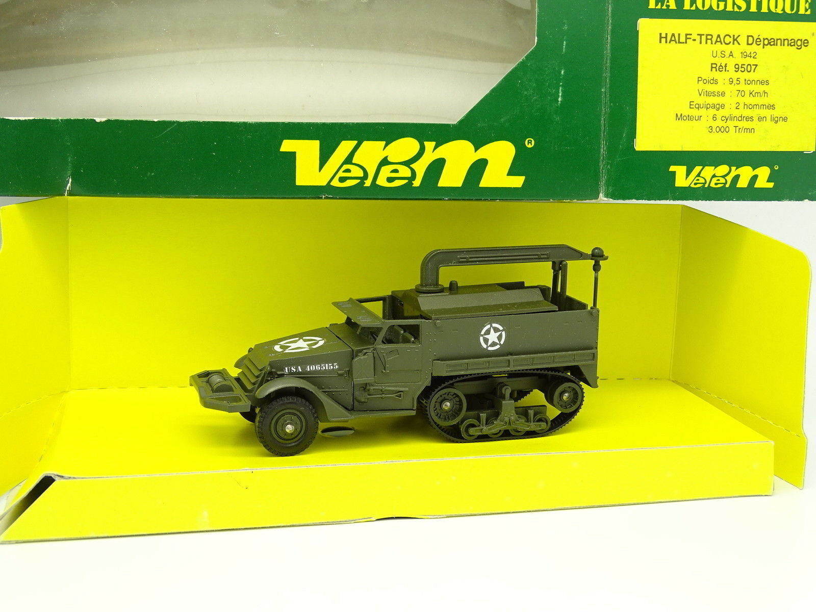 Verem Military Army 1 50 - Half Track Troubleshooting USA 1942 9507