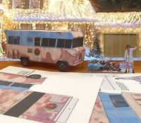 Papercraft Christmas Vacation Rv With Cousin Eddie ezu-make-it 1/27th Scale