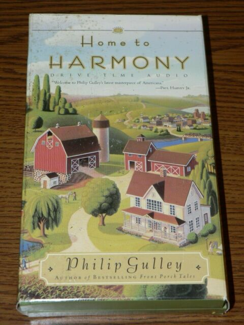 HOME TO HARMONY Drive Time Audio Book Cassettes By Philip Gulley