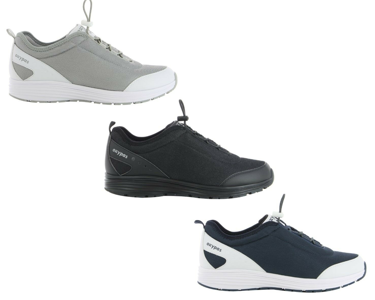 Oxypas Oxysport & 039;James& 039; Mesh Nursing schuhe for Men with Anti-slip SRA