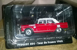PEUGEOT-404-TOUR-DE-FRANCE-1968-TOUR-DE-FRANCE-Neuf-sous-Blister