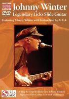 Johnny Winter Legendary Licks Slide Guitar Instructional Guitar Dvd N 002501042