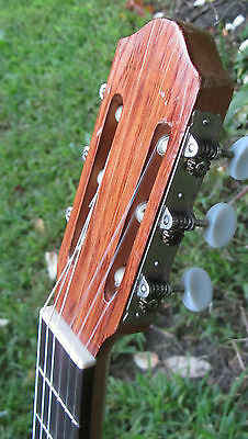 Incredibly rare M Villafan classical guitar, concert level. 6 String