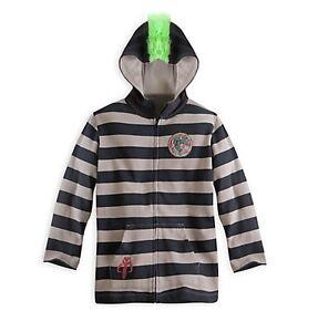 ca5067d5d432 Disney Store Star Wars Boba Fett Mohawk Hoodie Coat Jacket Boys Size ...