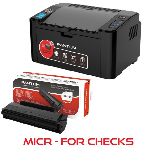 "for STARTER PRINTER MICR /""NEW MICR Pantum P2502W Wireless PB-210 E Printer /"""