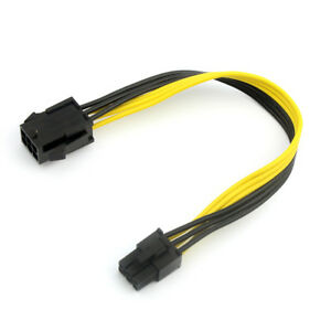 Graphics-6P-to-6P-Power-Supply-Adapter-Extension-Cable-6Pin-PCIE-Extender-Cable
