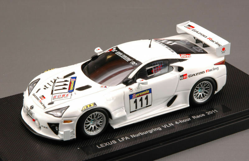 LEXUS LFA  111 Nurburgbague droife race 2011 1  43 MODEL 44629 EBBRO  parfait