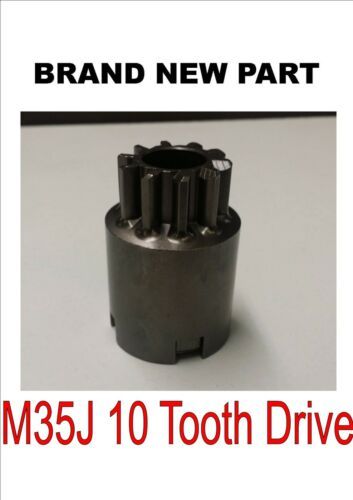 Brandneu 10 Zahn Lucas M35J Inertia Anlasser Motorantrieb//Ritzel 25148 25142