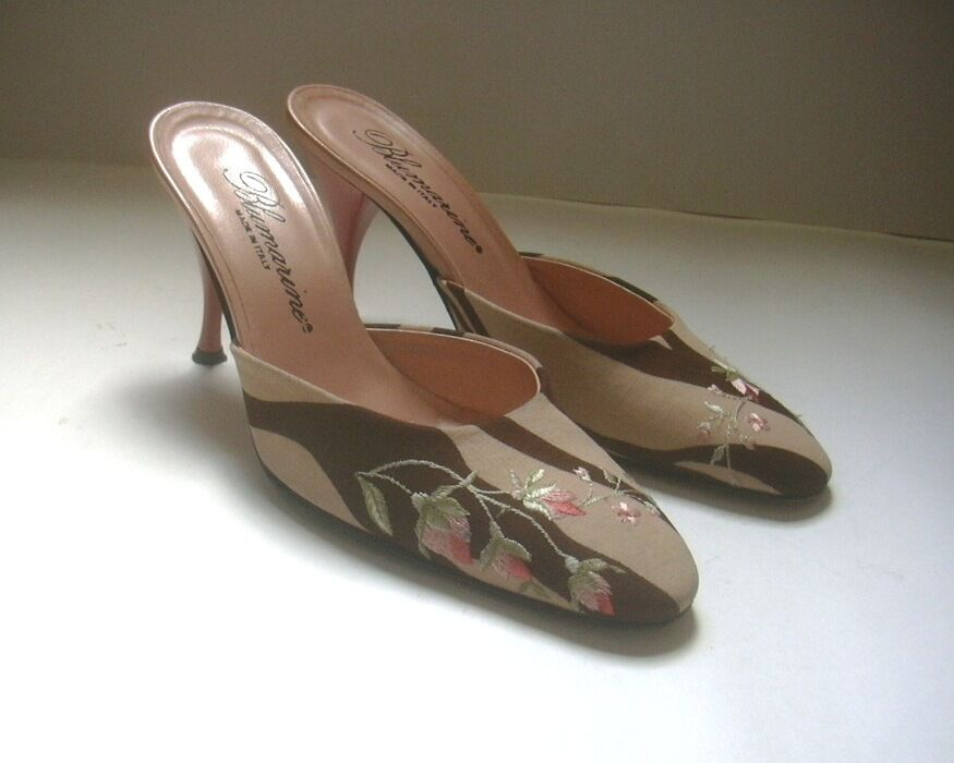 BLUMARINE  SLIP ON  HEELS SHOES  /2, SZ US 6 1/2