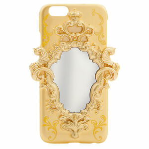 Disney Store Beauty & the Beast Movie iPhone 6 Mirror Clip Case + Screen Guard
