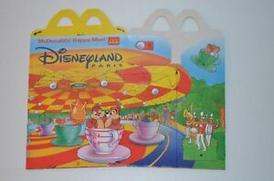 0079-McDonald-039-s-Happy-Meal-Box-empty-1996-Disneyland-McDonalds