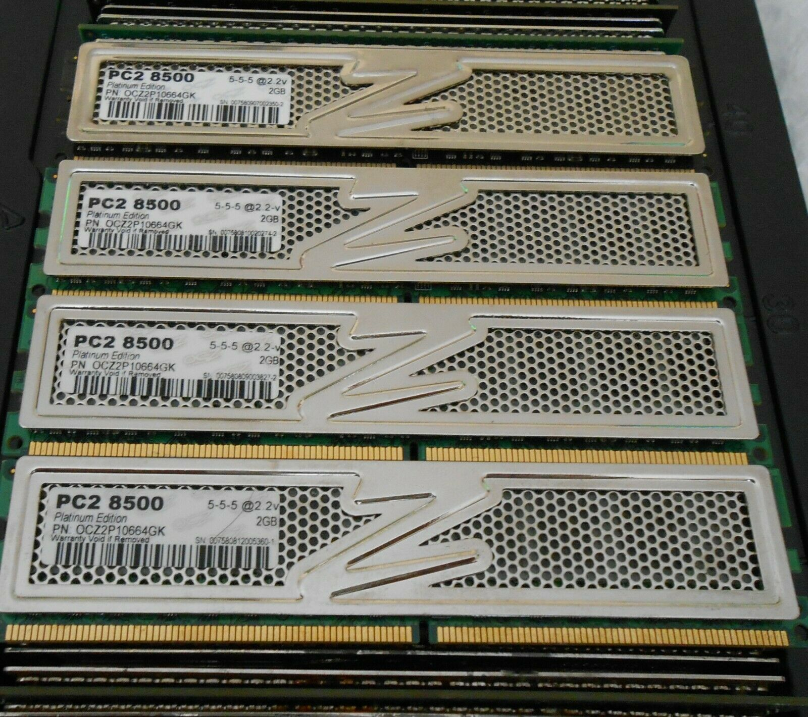 Computers/Tablets & Networking Memory (RAM) OCZ Platinum Edition ...