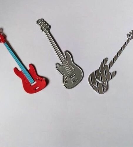 Guitare électrique métal Die Cutter Father/'s Day Birthday Party Musique Bande de découpe