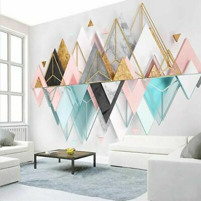 3d Background Wallpapers Living Room Abstract Walls Covering Wallpaper Geometric Ebay