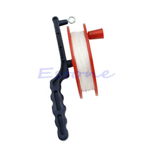 60m Outdoor Ball Bearing Wheel Kite Winder Tool Reel Handle Line String Winder Kites & Accessories