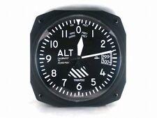 "New Trintec 10/"" Modern Altimeter Style Aviation Instrument style Clock 3020-10"