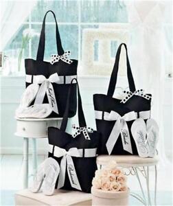Image Is Loading Wedding Party Gift Tote Bag Flip Flop Set