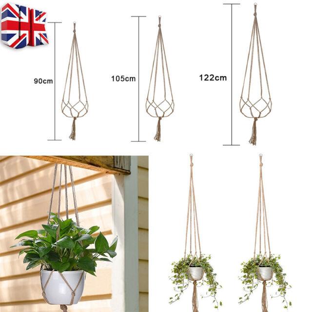 31cm 42cm WALL FENCE HANGING PLANTER PLANT POT BASKETS Sets of 4,5,6