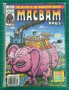 Bagged & Boarded - MacBam Bros - Issue 1 - Ref C206 - Free Postage