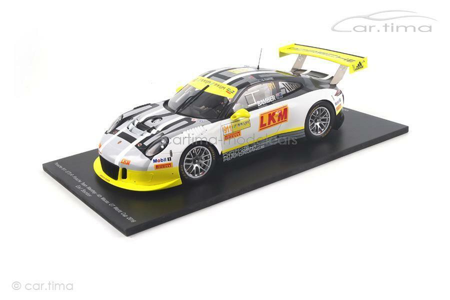 Porsche 911 (991) GT3 R Macau GT World Cup 2016-Earl Bamber-Spark - 1 of 3