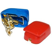 INSULATED QUICK RELEASE BATTERY CLAMPS CAR/VAN/TRUCK/BOAT BATTERY CONNECTOR