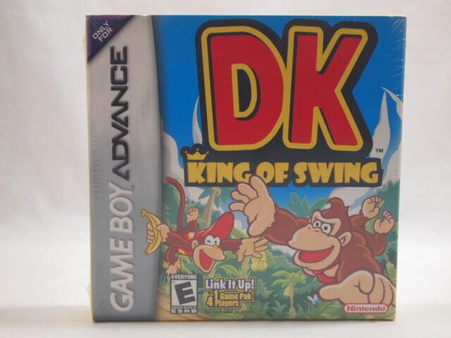 DK: King of Swing (Game Boy Advance) FACTORY SEALED!! H-Seam DONKEY KONG