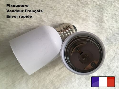 E40 femelle pour ampoule culot neuf 8-42 Lot de 2 adaptateurs douille E27 male