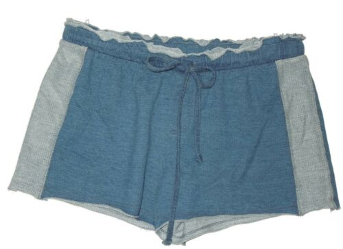 e Pantaloncini in maglia salotto Anthropologie con tessuto coulisse morbida da blu xBZBn8