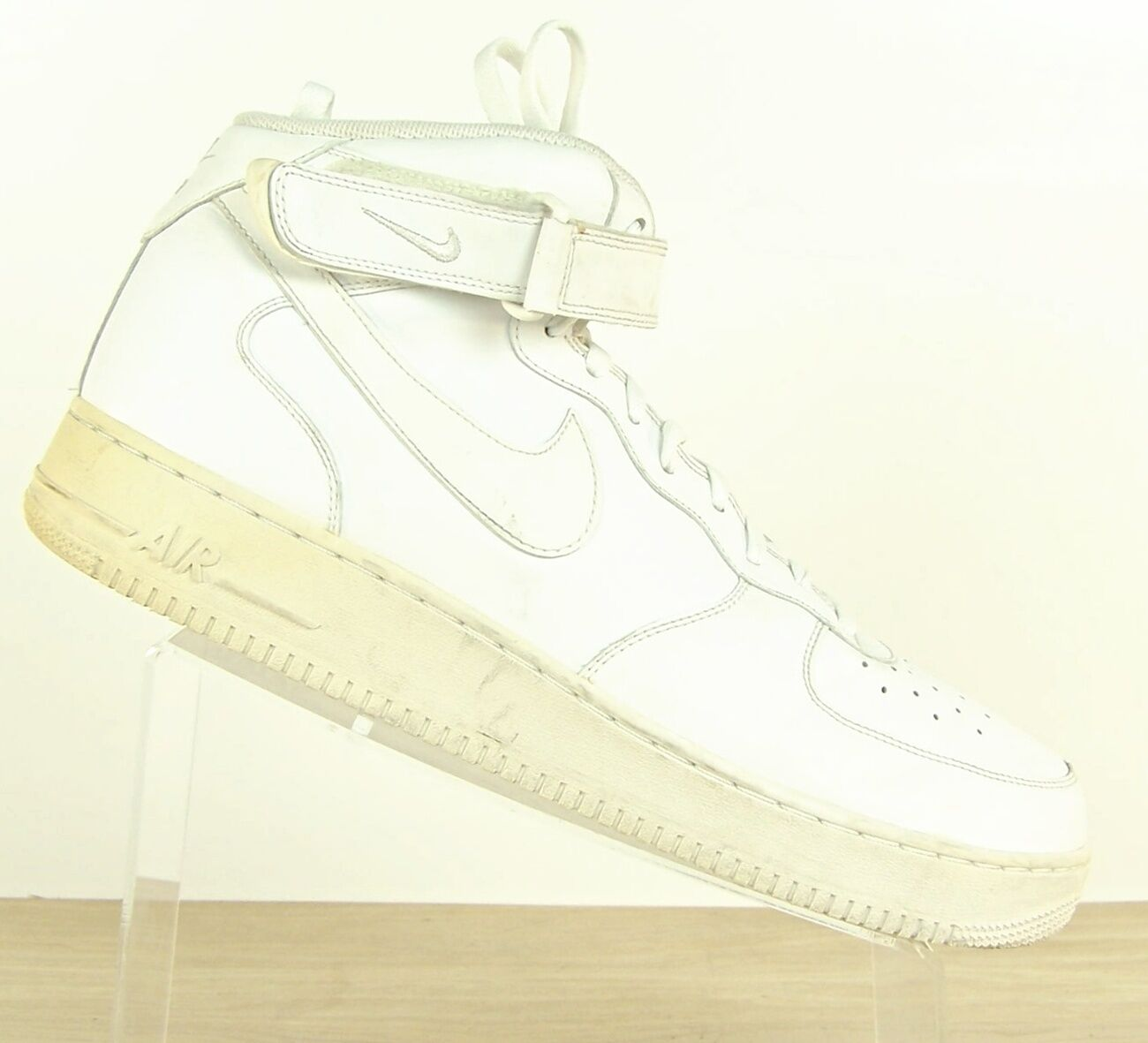 Nike Air Force 1  White Retro Classic 07 '07 315123-111 LIMITED RARE AF1 Premium