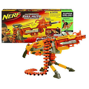 Image is loading New-NERF-VULCAN-EBF-25-Dart-BLASTER-Full-