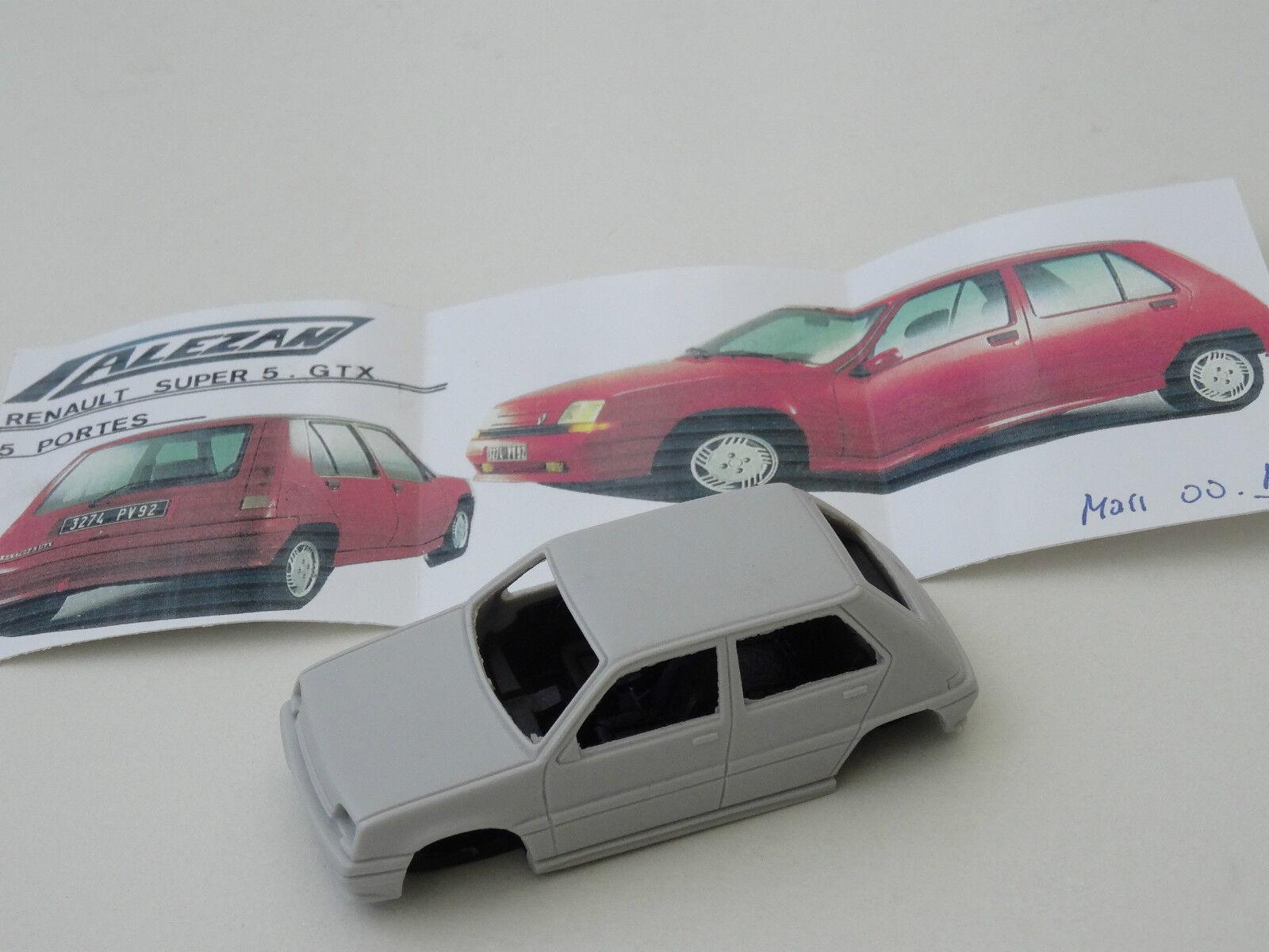 Chestnut models. 1 43. renault super 5 gtx GTS. 5 doors. 1988.