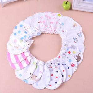 6PC/Lot Newborn Baby Infant Soft Cotton Handguard Anti Scratch Mittens Gloves