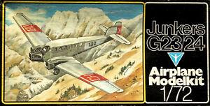 VEB-Plasticart-1-72-Junkers-G23-G24-Pre-war-German-Airliner