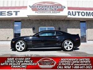 2013 Chevrolet Camaro ZL1 580HP SUPERCHARGED, LOADED, STUNNING, LOW KMS