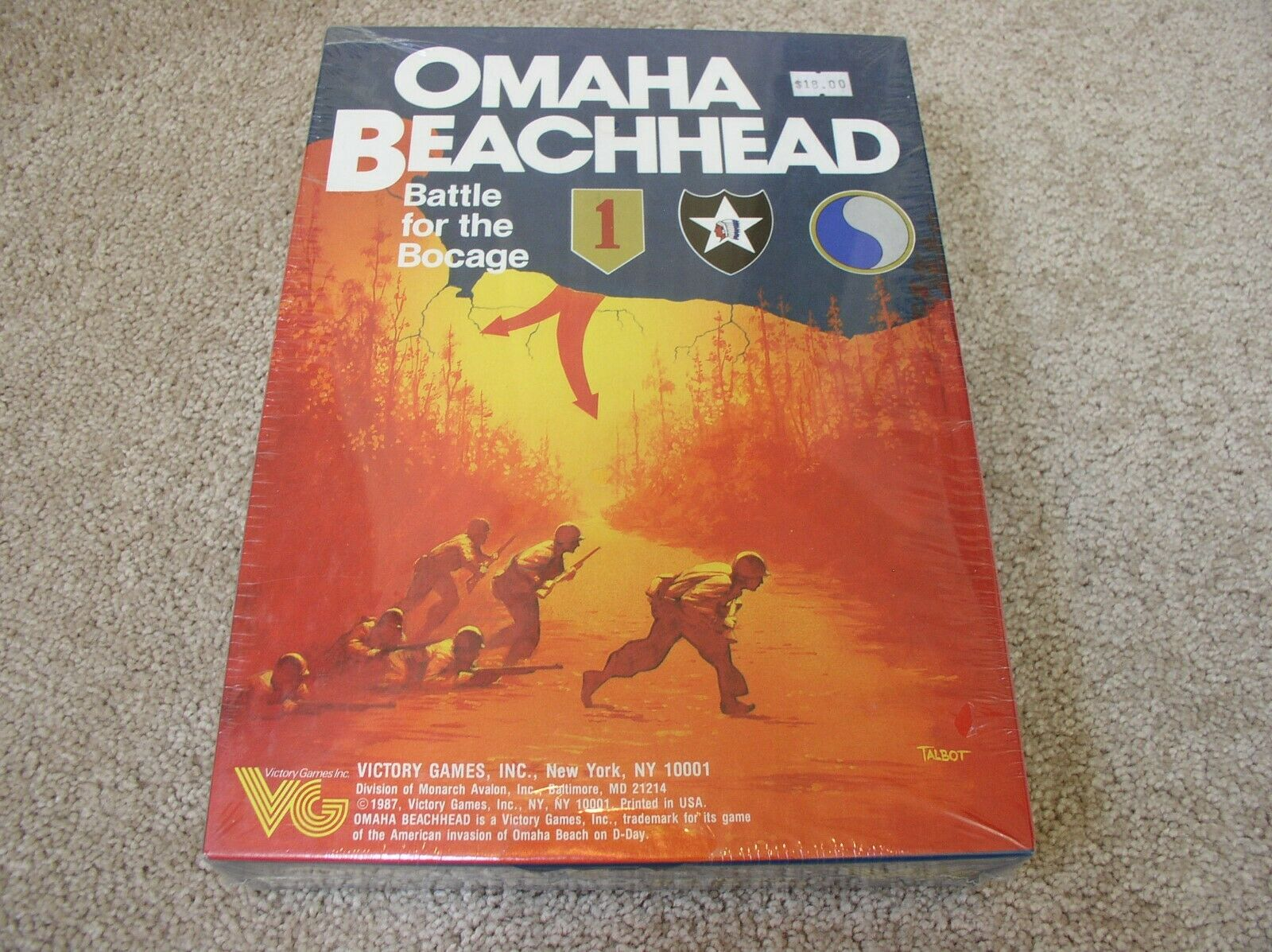Victory giocos  Omaha Beachhead scatolaed wargioco - sealed  fino al 50% di sconto
