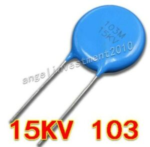 10 Pcs 10nf 103 Ceramic Capacitor 250V Fast Shipping with Tracking US Seller