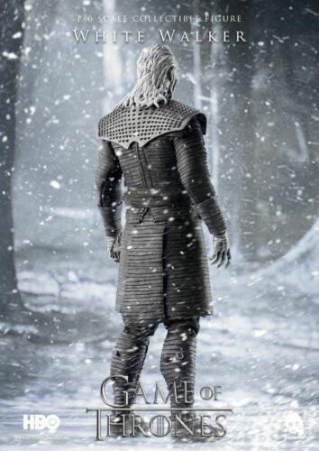 Threezero White Walker 1:6 Scale Figure from Game of Thrones Unopened
