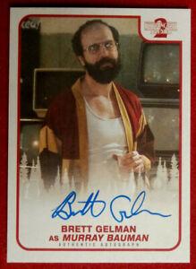 STRANGER THINGS - BRETT GELMAN - Personally Signed Autograph Card - TOPPS 2019
