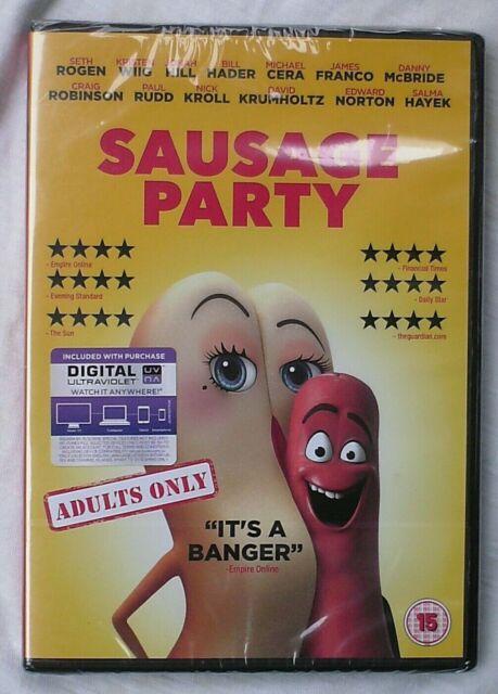 Sausage Party DVD Sealed Greg Tiernan (Director), Conrad Vernon