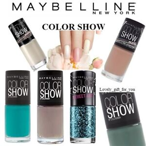 New Maybelline Color Show Colorama Nail Color Polish Select Shade ...
