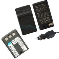 New NB-2LH NB-2L Battery + Charger for Canon EOS 350D 400D Digital Rebel XT XTi