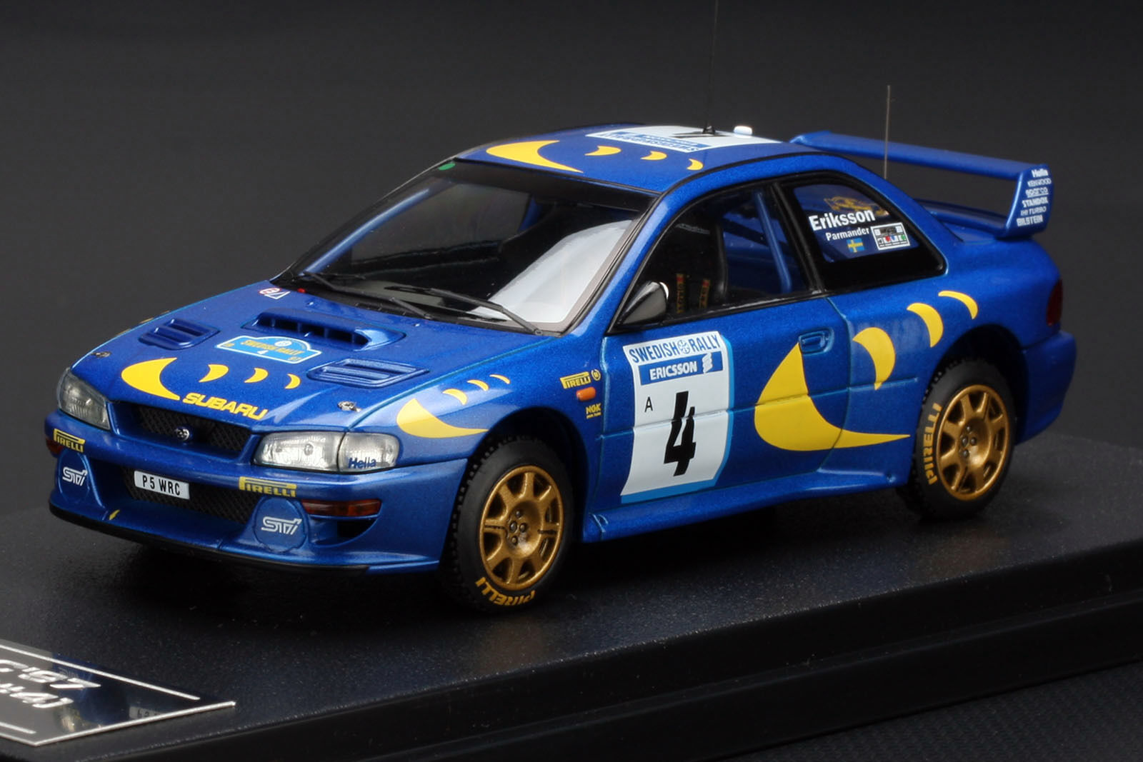 Subaru Impreza  4 1997 Swedish Rally  KENNETH ERIKSSON  -- HPI  8575 1 43